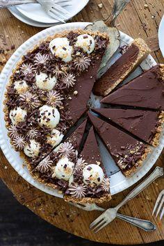 Schokoladen - Mousse Tarte   Meine Kuechenschlacht