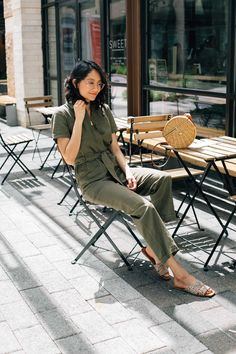 af6a77733cd Weekend Vibes In A  30 Linen Jumpsuit