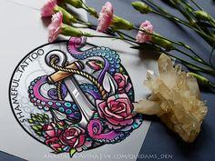 Anastasia Avina | Artist, tattoo's sketch-master, also I make prints and illustrations. You can find me here: vk.com/quidams_den | instagram.com/quidam.quidam.s.den