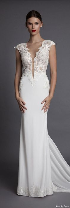 Muse by Berta Wedding Dress AISHA 2 | Deer Pearl Flowers