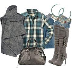 Estilo Casual, created by outfits-de-moda2 on Polyvore