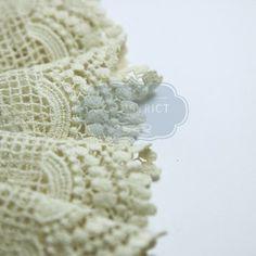 Ruban dentelle coton 8,5cm.