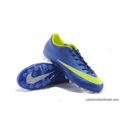 half off f8af1 f47d3 Nike Mercurial Victory X AG Blue Yellow  63.99