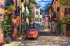Rue Francais by Dominic Davison