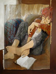 Reading and Art: Françoise Amadieu