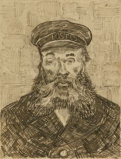 Vincent van Gogh, Portrait of Joseph Roulin