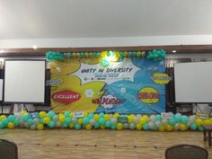 Stage decoration  #farewell#party#surprise#idea#graduation#auliyakeren#villabukitpinus#sukabumi#ampm_artandpartymaker