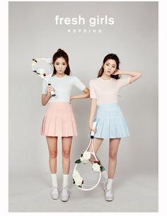 Glamorous fitted tee  | Korean Fashion #chuu