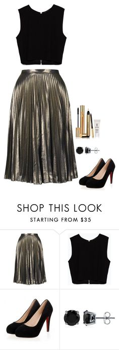 """Untitled #449"" by h1234l on Polyvore featuring Topshop, Zara, BERRICLE, Yves Saint Laurent, women's clothing, women's fashion, women, female, woman and misses"