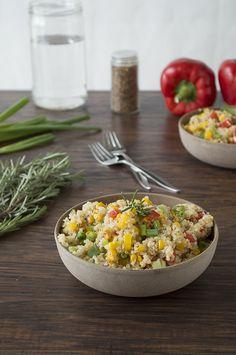 Quinoa Bell Pepper Salad