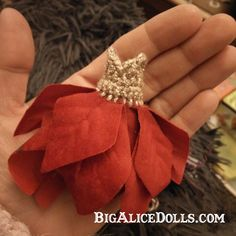 My Christmas Fairy Dress - Big Alice Dolls