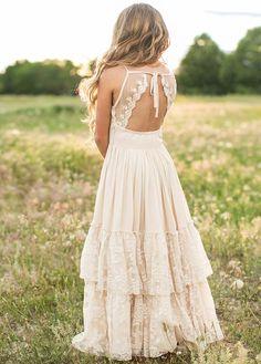 Flower Girl Dresses Boho, Girls Dresses, Summer Dresses, Maxi Dresses, Vintage Flower Girl Dresses, Flower Girl Beach Wedding, Toddler Flower Girl Dresses, Girls White Dress, Summer Maxi