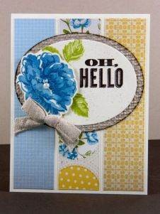 oh hello, stampin up