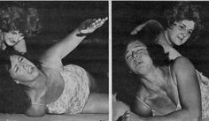 Ann Casey - Barefoot Women Wrestlers