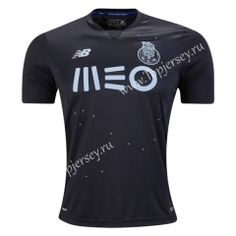 2016-17 Porto Away Black Thailand Soccer Jersey