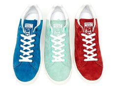 adidas originals spring summer 2014 suede pack adidas Originals Stan Smith Suede   Spring/Summer 2014