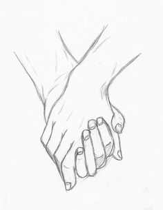 Holding Hands by Silouxa on DeviantArt