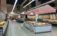 Maxi foods supermarket design by i 5 design http www for Innendesign studium berlin