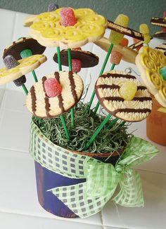 Delectable Edibles: Flower Cookie Pots