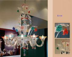 Murano Glass Eros Chandelier