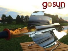 GoSun Stove: Portable, High Efficiency Solar Cooker by Patrick Sherwin — Kickstarter.  Only 20 minutes to a meal, safely sizzling up to 550°F, the GoSun Stove is the first truly practical fuel-free cooking solution.