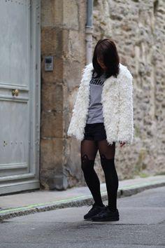 Le look de chaton de la blogueuseMademoisellecha.fr #blog #look #blogueuse #mode #fashion #streetstyle