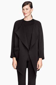 Manteau drapé - H&M