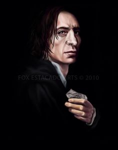 """portrait of severus snape"" 