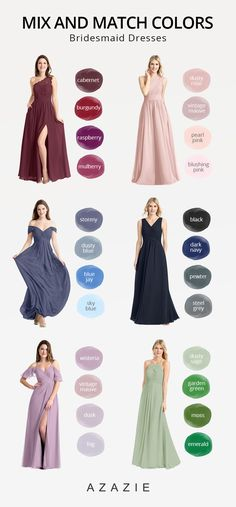 brides maid dresses indian Shop the Mix and Match bridesmaid dresses in styles at Azazie. No matter your wedding style, the perfect mix amp; match bridesmaid dresses for your bridal party awaits. Mixed Bridesmaid Dresses, Mix Match Bridesmaids, Azazie Bridesmaid Dresses, Bridesmaid Outfit, Bridesmaids And Groomsmen, Wedding Bridesmaids, Bridal Outfits, Bridal Dresses, Wedding Entourage Dress