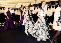 Carolina Herrera Spring 2015 RTW – Backstage – Vogue