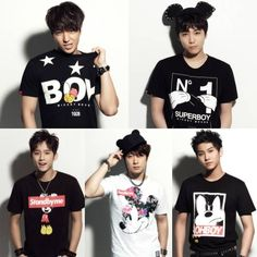 F.T. Island become the faces of Taiwanese clothing brand 'STAYREAL' | allkpop