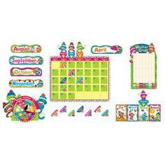 Sock Monkeys Calendar - Decorate to Educate - Teacher Store | Scholar's Choice