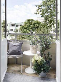 Balcony | Small Terrace | Swedish | Studio