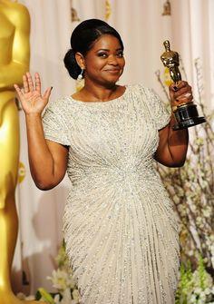 Olivia Spencer. Oscar award winning African American Woman! The Help.