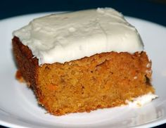 Carrot Pulp Cake with Crushed Pineapples Recipe (Use carrot pulp leftover from juicing)