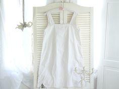 Vintage Bademode & Wäsche - ~◇~   Antikes Nachthemd, Shabby chic   ~◇~ - ein Designerstück von kuki-kuki bei DaWanda