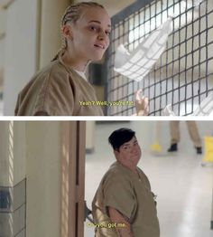 "If you're going to insult someone, make that shit creative. | 21 Things You Need To Know To Survive Prison On ""Orange Is The New Black"""