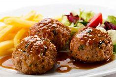 Comparte Recetas - Albóndigas de pavo con salsa de soja