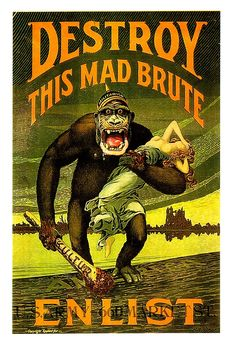 Probably the most famous American WWI propaganda poster.