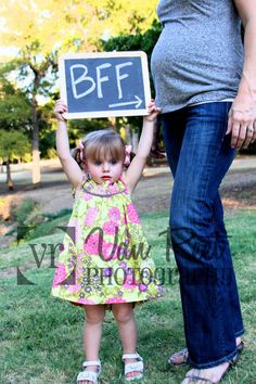 How sweet. I want to have a baby just so I can have this pic