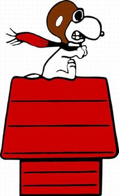 SNOOPY -  Aviator ~ Pinned by Nathalie Gobbe