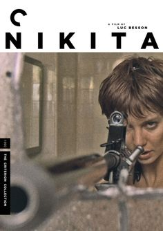"Criterion Cover for Luc Besson's ""Nikita"" (1990)"