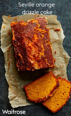 Light and fluffy sponge topped with a zesty sugar drizzle. Our Seville orange cake uses up any left over oranges and tastes delicious! See the recipe on the Waitrose website.