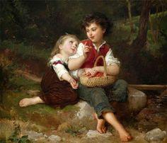 "Emile Munier ""One More Please"", 1886 (France, Academic Art, 19th cent.)"