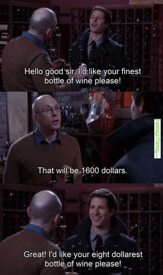 Funny Meme - [Wine [Brooklyn Nine-Nine][X-post /r/televisionquotes]]
