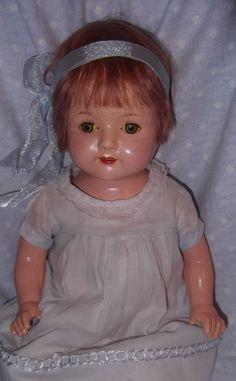 Effanbee Rosemary Composition Mama Doll - All Original