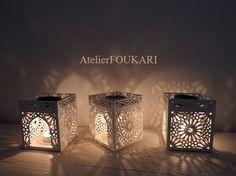 モロッコアロマポット*エッセンシャルオイル付きギフトセット - モロッコ雑貨とモロッコファッション Atelier FOUKARI