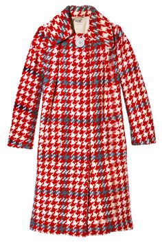 "Fall Coat: ""A plaid Miu Miu version makes a statement.""  Miu Miu coat, $3,955, miumiu.com."
