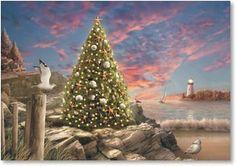 Holiday Card - The Joyful Warmth of the Holiday Season | Alan Giana | 2002843-P | Leanin' Tree