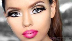barbie doll makeup big eyes